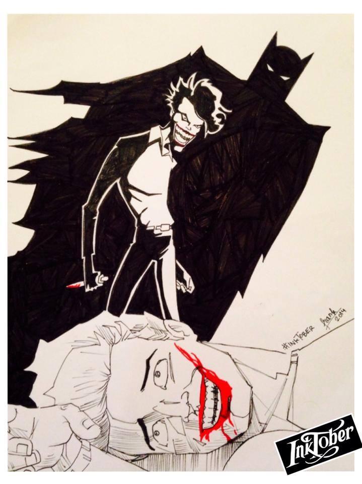 #Inktober 2014 [9]: The Joker.